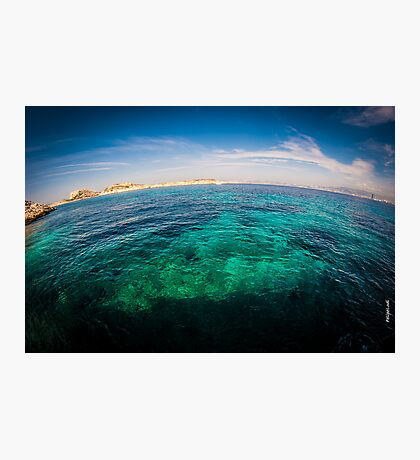 Green Sea Photographic Print