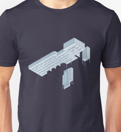 Isometric Council Chambers Unisex T-Shirt