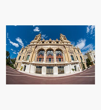 Monte Carlo Casino Photographic Print