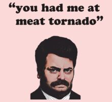 you had me at meat tornado - Ron Swanson by SwankyOctopus