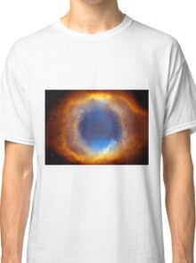 The Eye Of God-Helix Nebula Close Up Classic T-Shirt