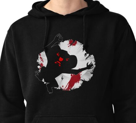 Drop Bear Death From Above Pullover Hoodie