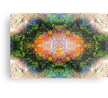 'Into The Dharma' Metal Print