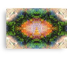 'Into The Dharma' Canvas Print