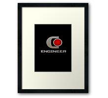 CEC Engineer Framed Print