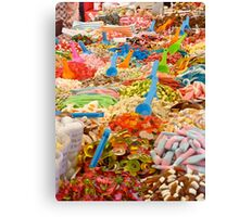 Candy!Candy!Candy! Canvas Print
