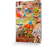 Candy!Candy!Candy! Greeting Card