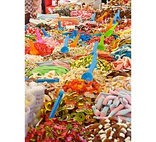 Candy!Candy!Candy! Photographic Print