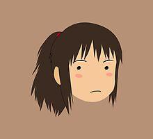 Spirited Away Chihiro by bonieiji