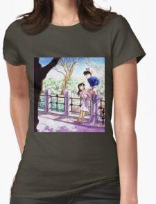 Detective Conan: Ran and Shinichi Womens Fitted T-Shirt