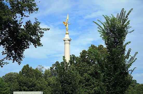 First Division Monument by Cora Wandel