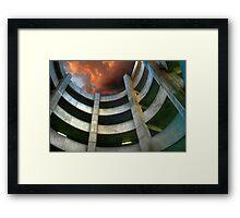 Garage Spiral Framed Print