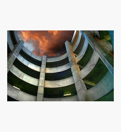 Garage Spiral Photographic Print