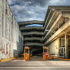 Dayton Garage by Michael  Herrfurth
