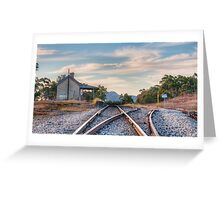 Last Train to.... Greeting Card