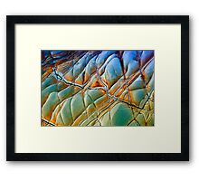 Rock Abstract #1 Framed Print