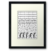 Singing in the Raaaain Framed Print