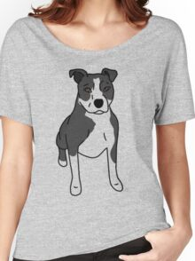 Pit Bull - with markings Women's Relaxed Fit T-Shirt