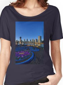 Yaletwon And False Creek Vancouver Women's Relaxed Fit T-Shirt