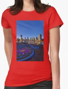 Yaletwon And False Creek Vancouver Womens Fitted T-Shirt