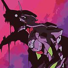 EVA 01 - Evangelion iPhone case / Poster by Fenx