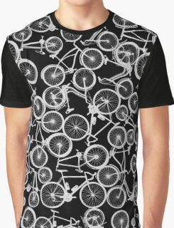 Pile of Grey Bicycles Graphic T-Shirt
