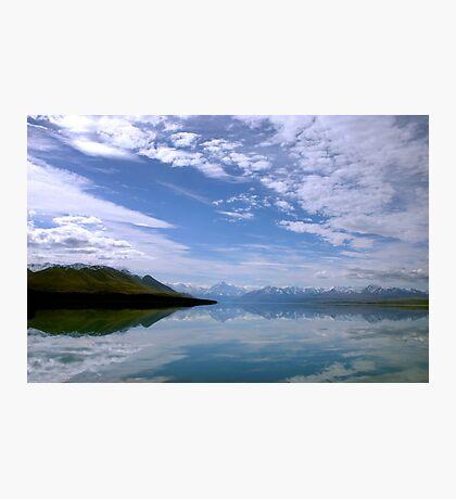 Lake Pukaki scenic landscape Photographic Print