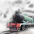 ghost train by gruntpig