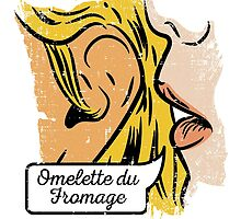 Omelette du fromage by bresquilla