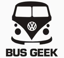 VW Camper Bus Geek Black by splashgti