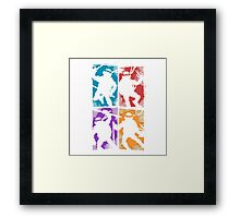 Heroes in a Half Shell Framed Print