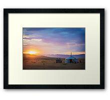 Nomad Life Framed Print
