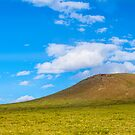 Mongolia's Real Life Windows 95 desktop mountain by Ruben D. Mascaro