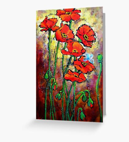 Once Upon a Poppy Greeting Card