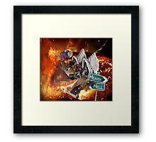 """Lego Hell for Kevin.........""  Framed Print"