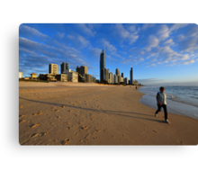 Surfers Paradise. Gold Coast, Queensland, Australia. Canvas Print
