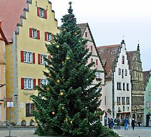 Christmas in Rothenburg ob der Tauber - Germany by Arie Koene