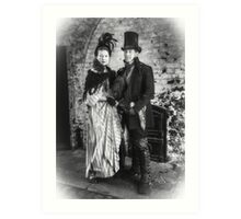 Victorian Couple Art Print