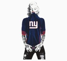 Marilyn Monroe New York Giants by daleos