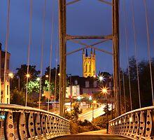 Sunset Bridge by Theresa Selley