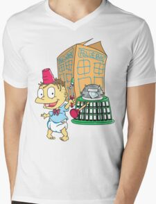 Tommy Who Mens V-Neck T-Shirt