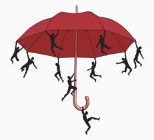 Umbrella Mayhem Kids Tee