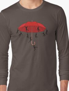 Umbrella Mayhem Long Sleeve T-Shirt