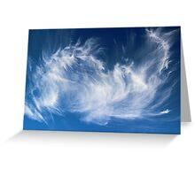 Mystical Cloud Formation Greeting Card