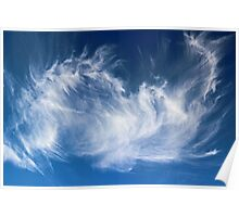 Mystical Cloud Formation Poster