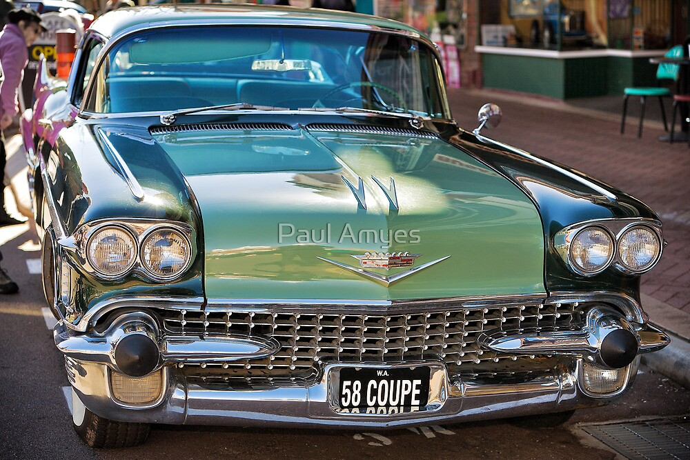 Cadillac 58 Coupe by Paul Amyes