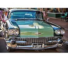 Cadillac 58 Coupe Photographic Print