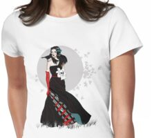 Witch Bride Womens Fitted T-Shirt