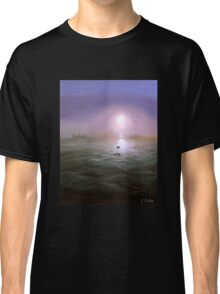 Seagulls in the mist Classic T-Shirt