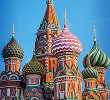 St. Basil's Cathedral by Ruben D. Mascaro